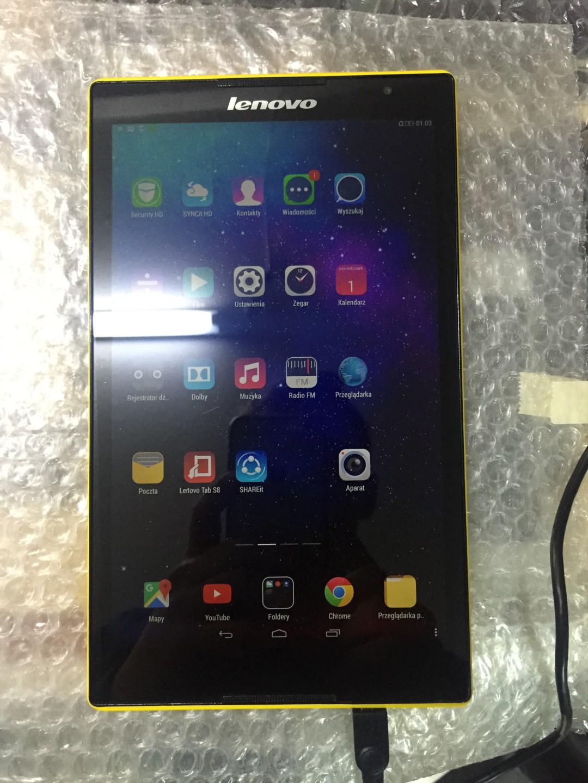 Wymiana przedniej warstwy ekranu w tablecie Lenowo Tab S8